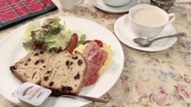 『チェルシー』難波の英国風モーニングが楽しめる喫茶店