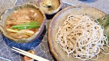 『手打ちそば 星(アカリ)』大阪道頓堀にある打ち立ての美味しい蕎麦が頂けるお店♬